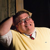 """Christian Busath in """"Lucky Stiff"""" musical."""