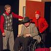 "Hugh Butterfield, John O'Driscoll, and Davis Underwood in ""Lucky Stiff"" musical"