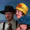 "Darren Robinson and Jillian Carter  in ""Lucky Stiff"" musical."