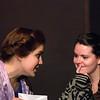 "Amy Heimbigner and Brenna Palfi  in ""Lucky Stiff"" musical"