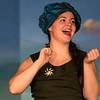 "Brenna Palfi in ""Lucky Stiff"" musical."