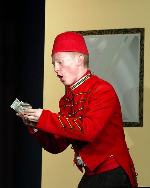 """Davis Underwood in """"Lucky Stiff"""" Musical"""