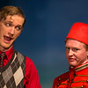 "Hugh Butterfield and Davis Underwood in ""Lucky Stiff"" Musical"