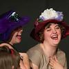 "Brenna Palfi and Jillian Carter in ""Lucky Stiff"" musical."