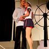 """Jacob Aaron Cullum as Dick and Emily Quinn Monrad as Ruby sing together in the Pinecone  Playhouse production of """"Dames at Sea"""", July 18, 2012 in West Yellowstone, MT."""