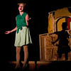 """Emily Quinn Monrad as the lead character, Ruby in the Pinecone  Playhouse production of """"Dames at Sea"""", July 18, 2012 in West Yellowstone, MT."""