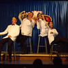 """The Pinecone Playhouse production of """"Forever Plaid"""" opened Sep 3, 2012 in West Yellowstone, Montana. Great production starred from left, Derek Gregerson (as Frankie), Bryon Finch (as Sparky), Don Torgerson (as Smudge)  and Blair Bybee (as Jinx)."""