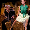 """Jacob Cullum as Dick, and Emily Quinn Monrad as Ruby in the Pinecone  Playhouse production of """"Dames at Sea"""", July 18, 2012 in West Yellowstone, MT."""