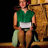 """Emily Quinn Monrad as Ruby, in the Pinecone  Playhouse production of """"Dames at Sea"""", July 18, 2012 in West Yellowstone, MT."""