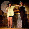 """Emily Volf as Joan and Hugh Butterfield as Lucky perform """"Singapore Sue"""" in the Pinecone  Playhouse production of """"Dames at Sea"""", July 18, 2012 in West Yellowstone, MT."""