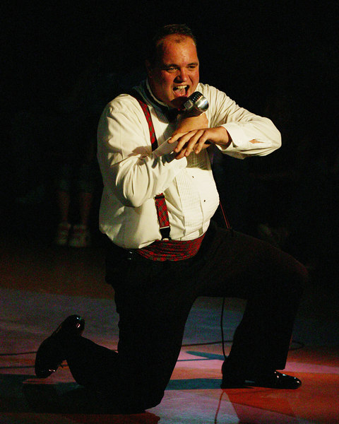 "Dave Burton as Jinx in ""Forever Plaid"" at the Playmill Theatre, West Yellowstone, MT, 2006 Season..."