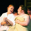 """Andrea Daveline and Christian Busath sing together in """"Seven Brides for Seven Brothers"""" performed in the Summer 2006 season at the Playmill Theatre in West Yellowstone, MT."""