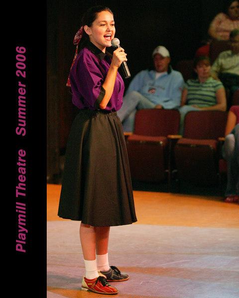 Playmill Theatre, West Yellowstone, MT. 2006 Season. Preshow singing for Forever Plaid by Rachel Lynn Woodward.