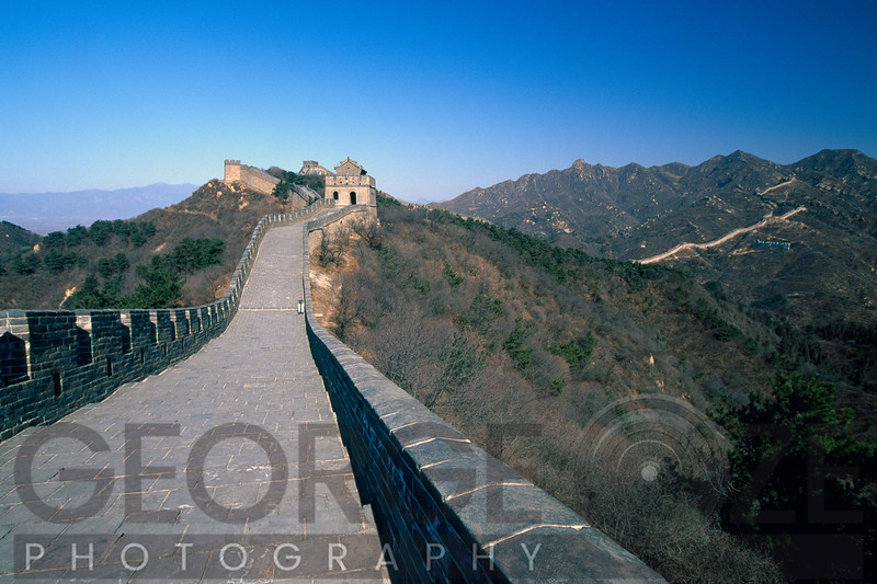 Great Wall of China with Arrow Towers, Badaling Section