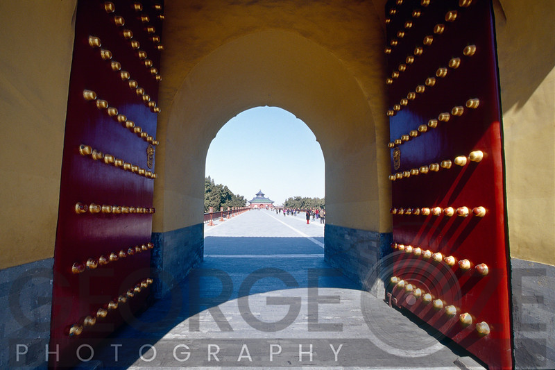 Gate to the Temple of Heaven, Beijing, China