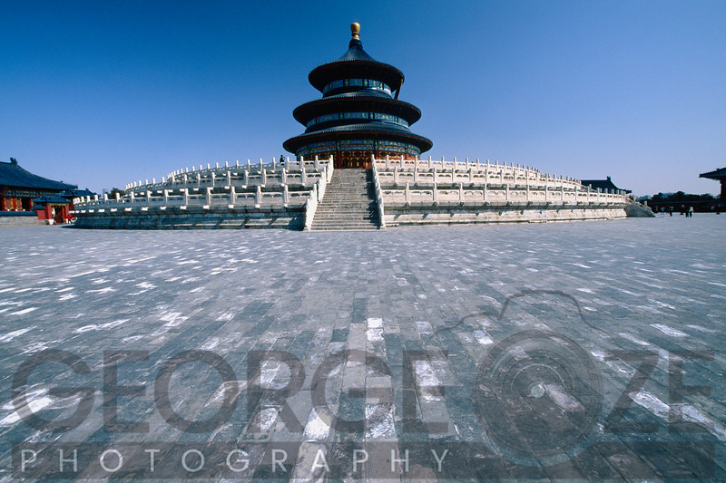 Hall of Prayer for Good Harvests , Temple of Heaven, Beijing, China