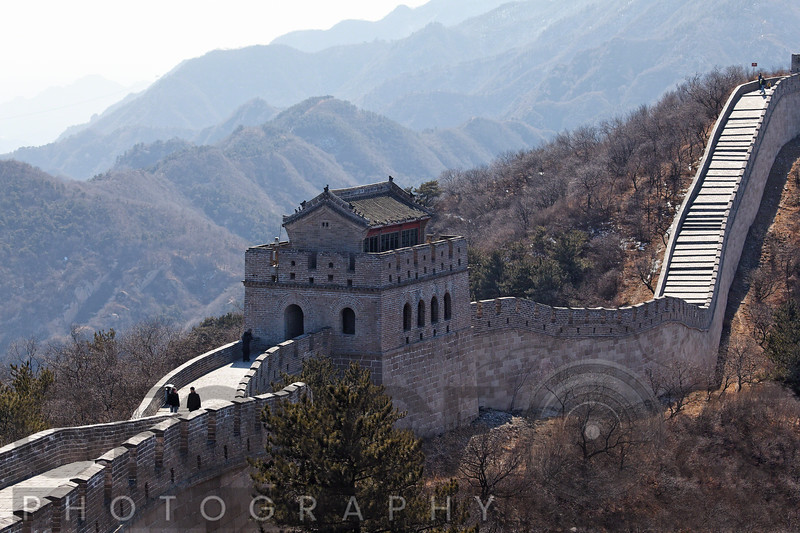 Arrow Tower on the Great Wall, Badaling Section, China