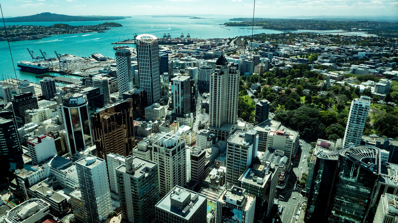 Views from the Sky Tower