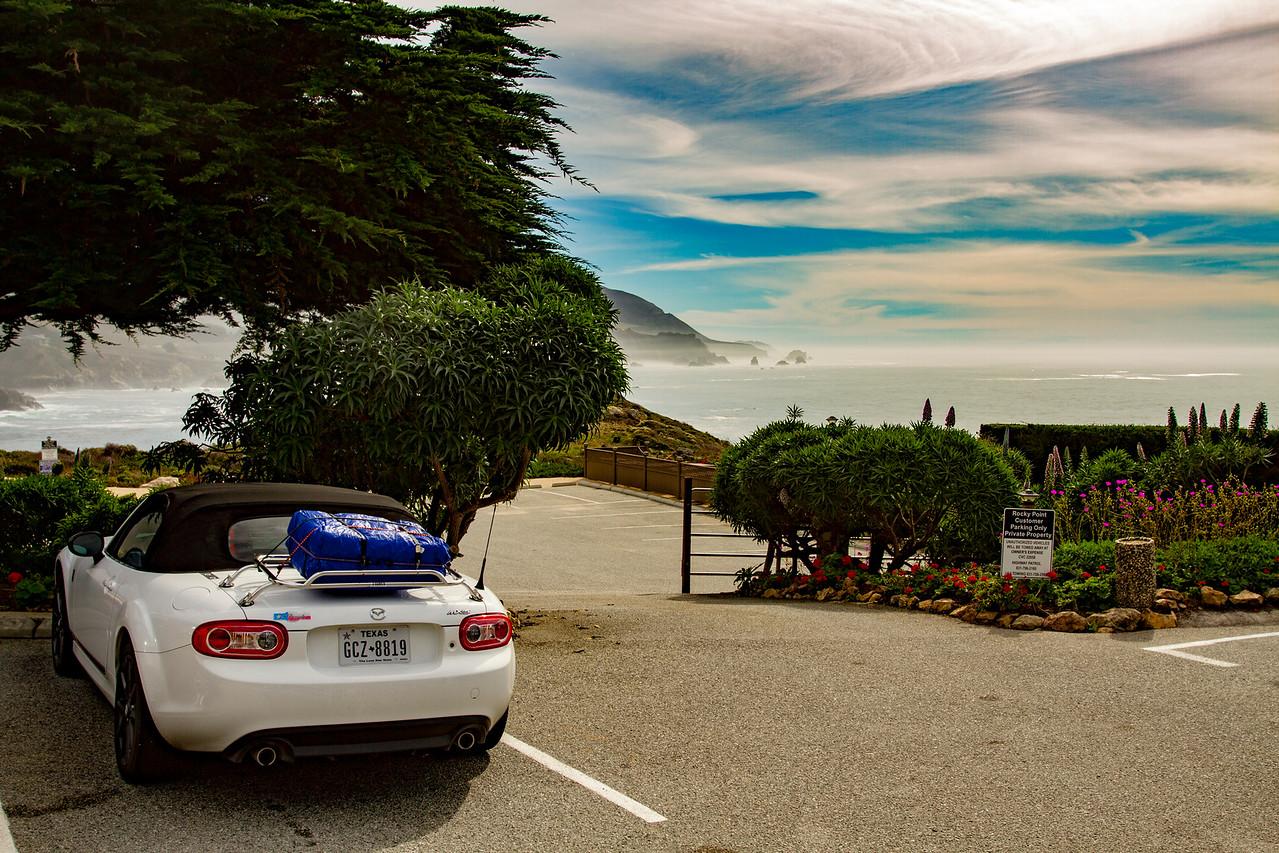 We love Rocky Point Restaurant near Carmel, CA