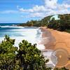 High Angle View of Domes Beach, Rincon, Puerto Rico