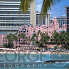 Royal Hawaiian Hotel aka Pink Palace, Waikiki Beach, Honolulu, Hawaii