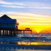 Clearwater Beach Sunset over the Pier, Florida