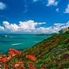 View of the Caribbean Sea from the El Conquistador Hotel, Fajardo, Puerto Rico