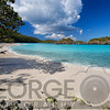 Secluded Corner of a Beach, Trunk Bay, St John, US Virgin Islands