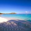 View of a Caribbean Beach, Hawksnest Bay, St John, US Virgin Islands