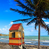 Lifeguard Hut on a Beach, Arroyo, Puerto Rico