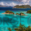 Panoramic View of a Beach with Turquoise Waters