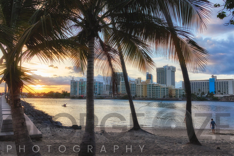 Sunset Over Condado, San Juan, Puerto Rico