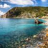 Liguria Coastline at Monterosso Al Mare, Cinque Terre, Italy