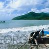 Old Fishing Boat ina the Bay, Maunabo, Puerto Rico