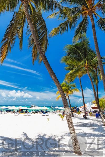 Beach Scenic,, Playa Norte, Isla Mujeres, Quintana Roo, Mexico