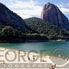 View of the Sugarloaf Mountain from the Vermelha Beach, Rio de Janeiro, Brazil