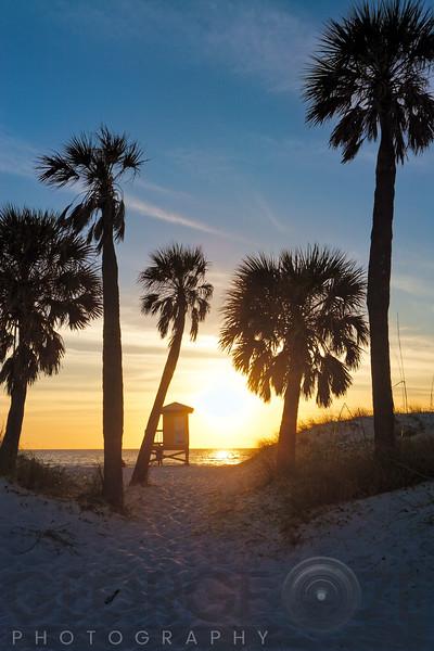 Florida Sunset,  Clearwater Beach, Florida