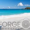 Gentle Waves on a White Sand Beach, Trunk Bay, St John, US Virgin Islands