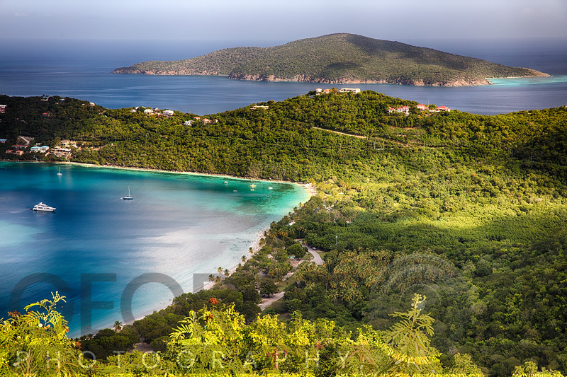 Morning View of Magens Bay, St Thomas, USVI