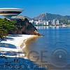 Futuristic Building on the Cliff, Niterói Contemporary Art Museum, Rio de Janeiro, Brazil
