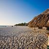 Sandy Beach with Palapa Umbrellas, Divi Village, Aruba