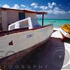 Old Fishing Boats on The Shore, Aruba