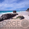 View of a Pink Sand Shore, Elbow Beach, Bermuda