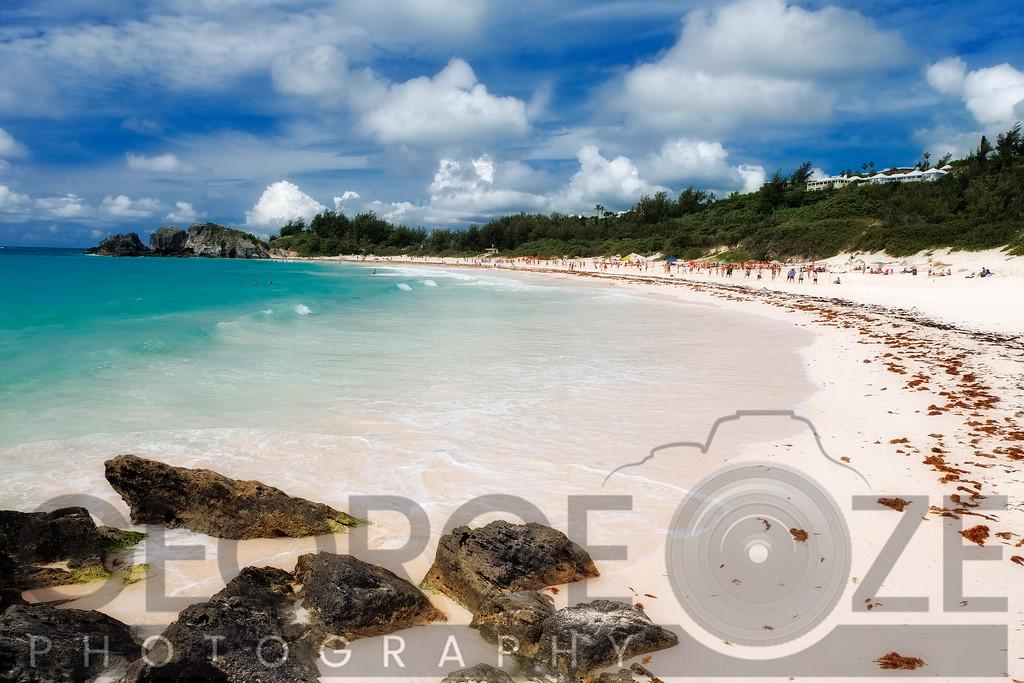 Horseshoe Bay Beach View, Southampton Parish,Bermuda, United Kingdom