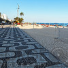 Patterned Walkway of Ipanema Beach, Ro de Janeiro, Brazil
