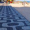 Walkway of Ipanema Beach, Rio de Janeiro, Brazil
