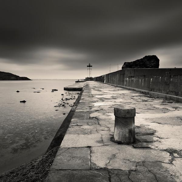 Port Vendres Lighthouse Study 1