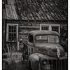 Vintage Truck and old Garage