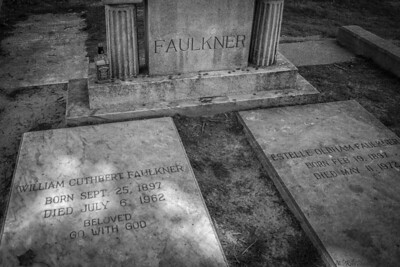William Faulkner Grave, Oxford, Mississippi
