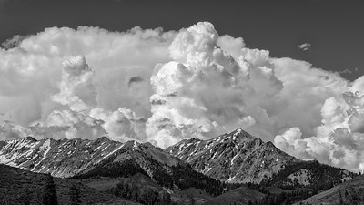 Boulder Mountain Clouds